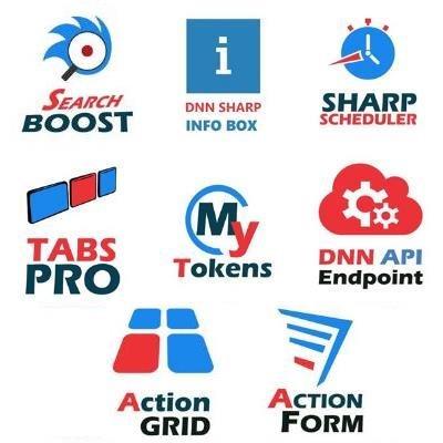 پکیج ماژول های دیانان شارپ (DnnSharp_Package)