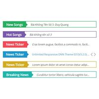 CoolDNN,ماژول متن روان پیشرفته (NewsTicker)